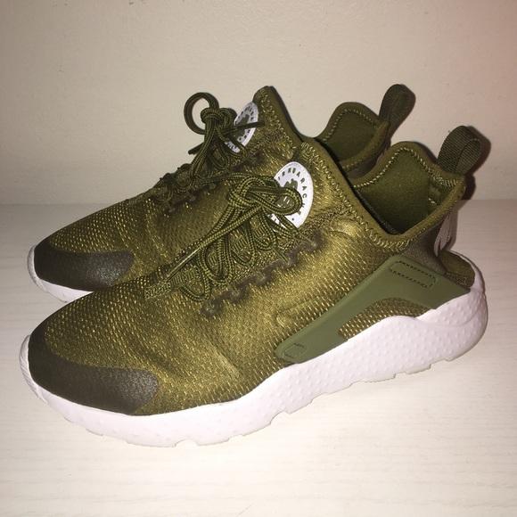 5963fa4a14 Nike Shoes | Huarache Run Ultra Olive Green | Poshmark